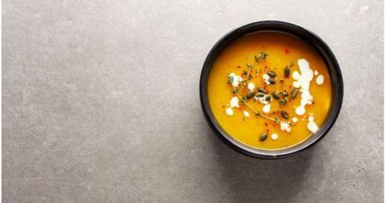 receta de sopa de calabaza - Mares Lingua - Recetas de cocina fáciles y sanas