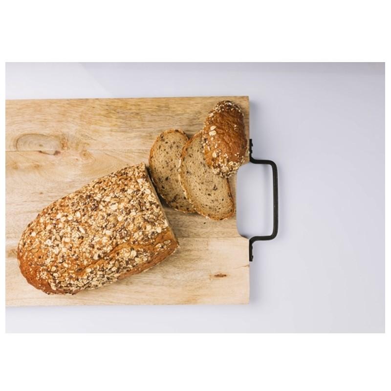 Receta de pan de harina de garbanzo - Mares Lingua - Recetas de cocina fáciles y saludables