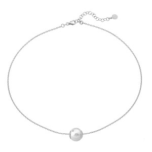 "Collar Majorica ""Nuada"" 12mm – Plata de ley – 15466.01.2.000.010.1"