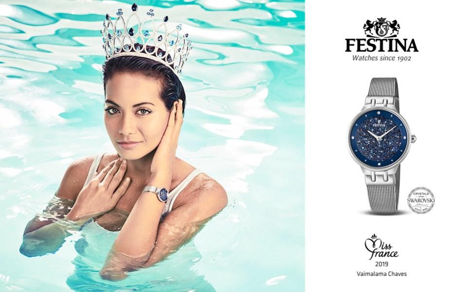 , Festina & Miss France 2019