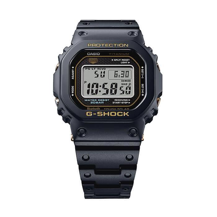 , G-Shock GMW-B5000TB-1, Full titanio con cristal de zafiro