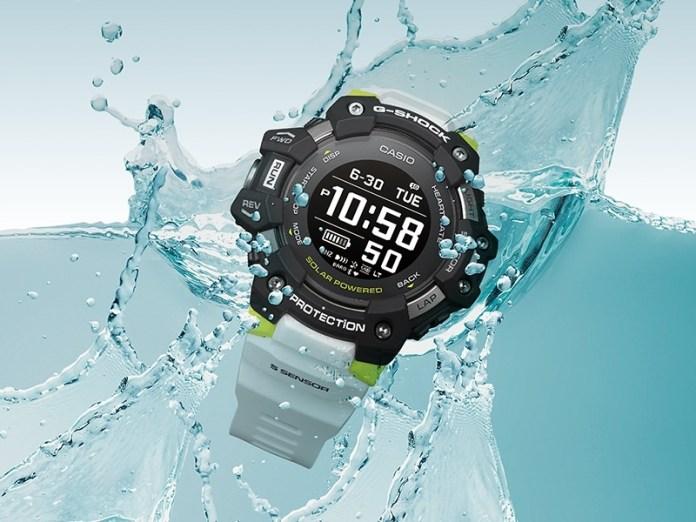 G-Shock G-SQUAD GBD-H1000, G-Shock G-SQUAD GBD-H1000 con monitor de ritmo cardíaco y GPS