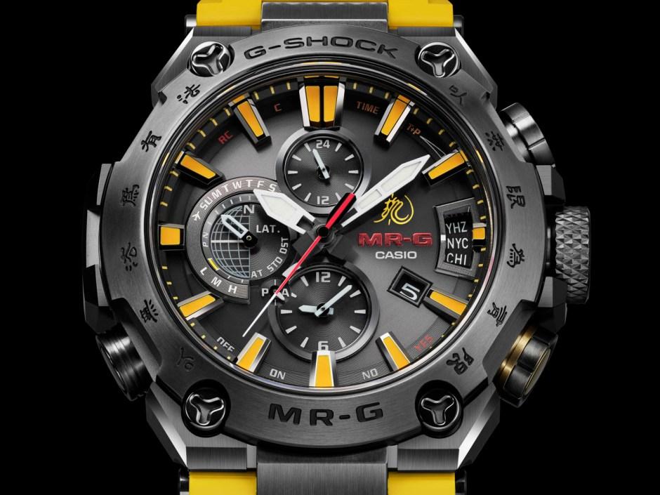 G-Shock MRG-G2000BL-9A, G-Shock MRG-G2000BL-9A por 80 cumpleaños Bruce Lee