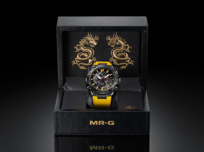 G-Shock MRG-G2000BL-9A por 80 cumpleaños Bruce Lee