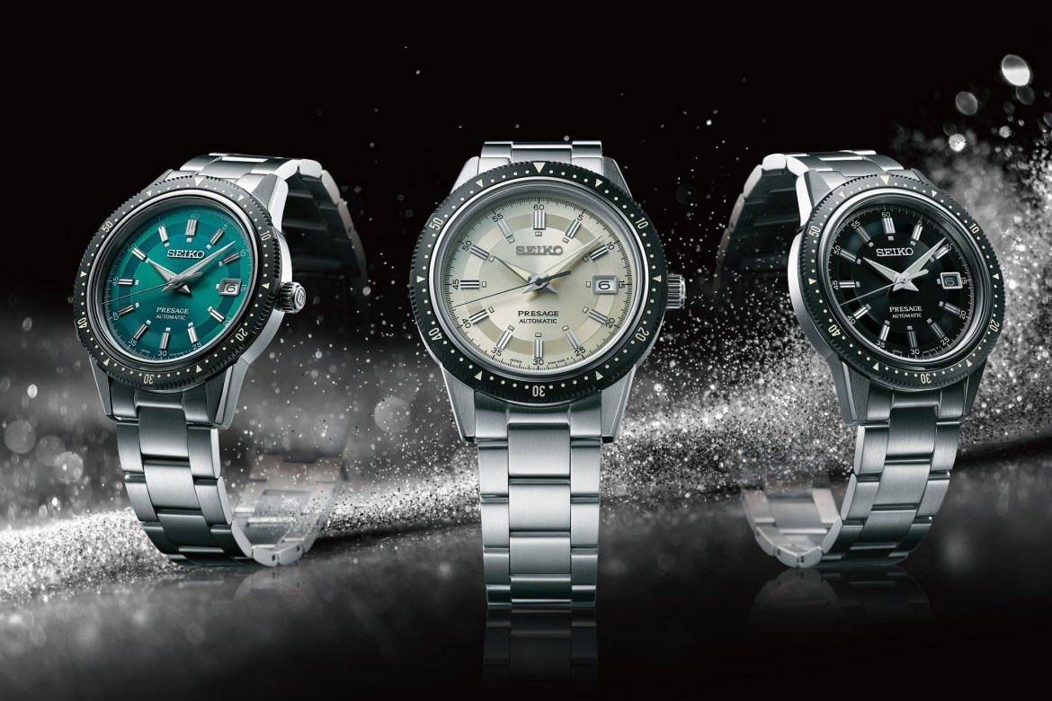 """Seiko Presage Tribute to the 1964 """"Crown Chronograph"""" – Limited Edition"""