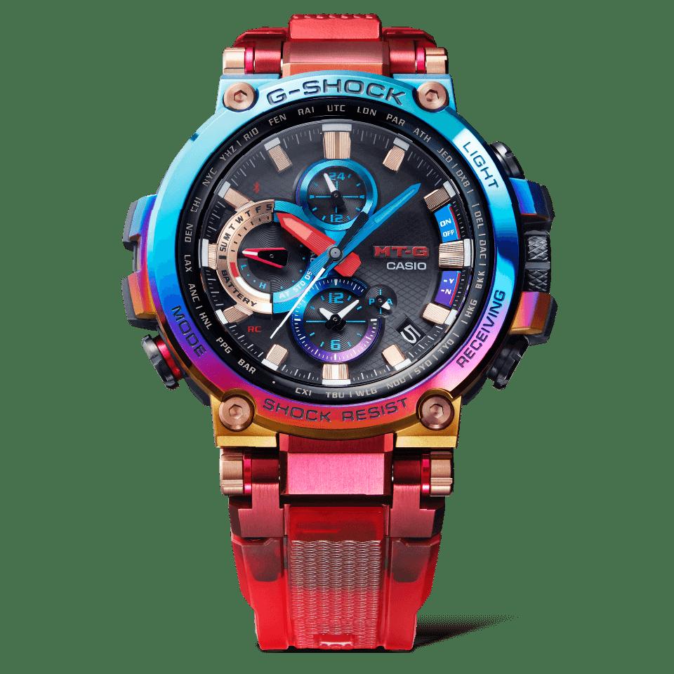 G-Shock MT-G MTG-B1000VL-4A Rayo volcánico
