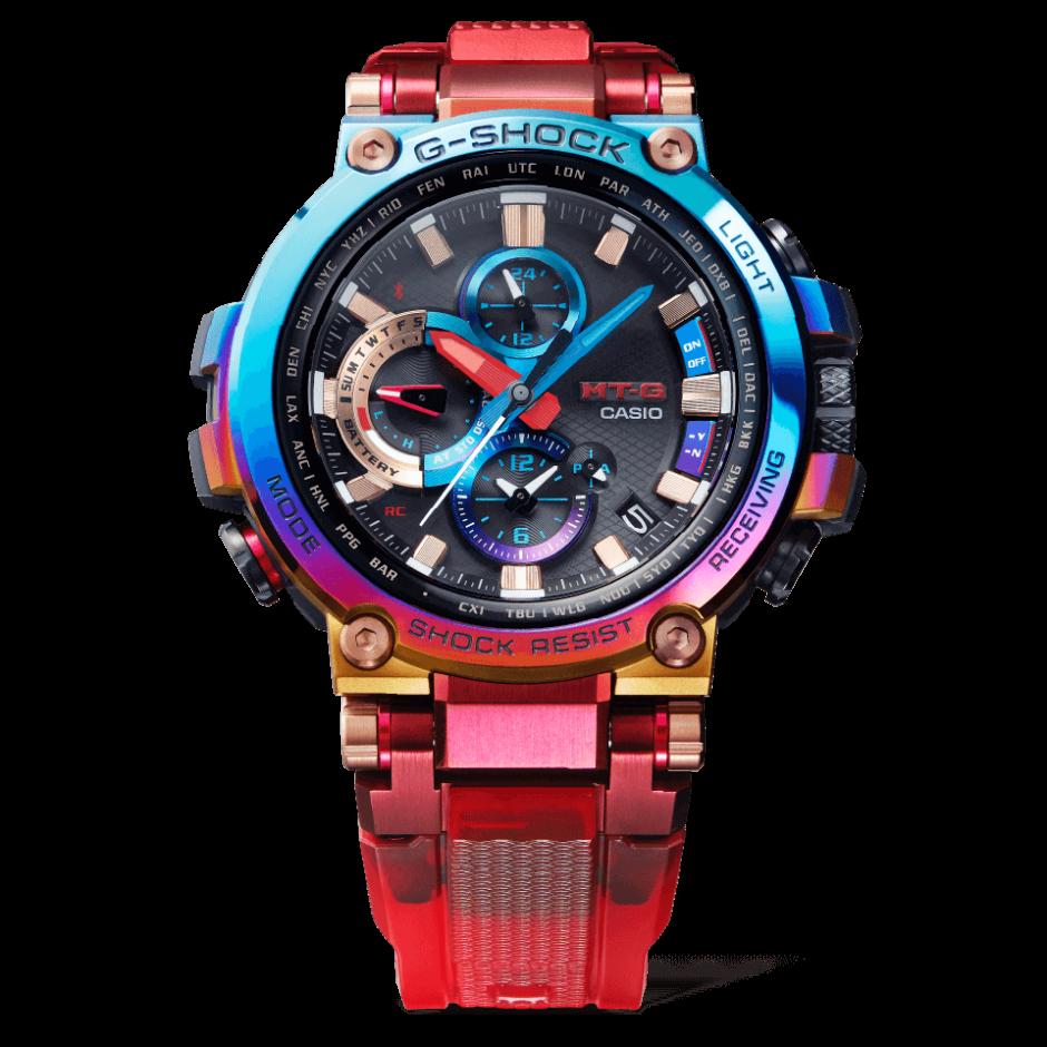 G-Shock MTG-B1000VL, G-Shock MT-G MTG-B1000VL-4A Rayo volcánico