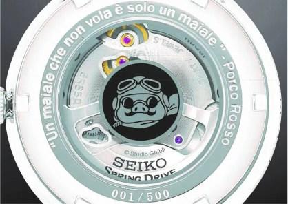 """SNR047 SRQ033 Seiko Presage, Presage y """"Porco Rosso"""" vuelan juntos en colaboración con un clásico del cine de animación."""