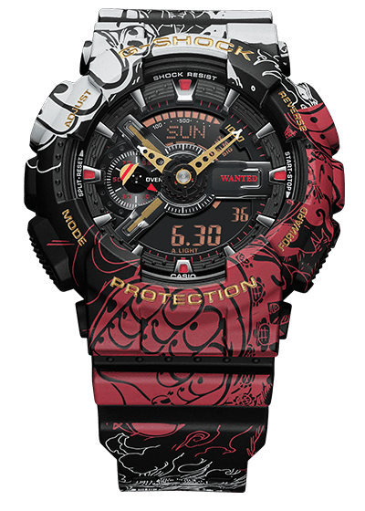 G-Shock One Piece GA-110JOP-1A4, Nueva colaboración G-shock x One Piece