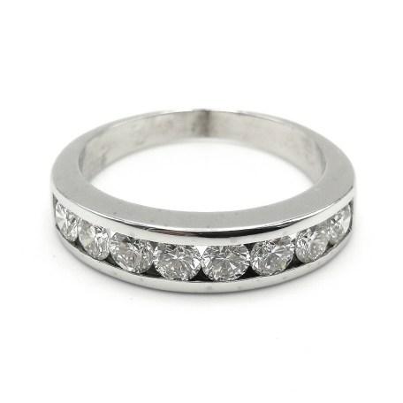 anillo oro blanco AN28800