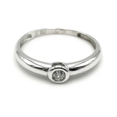 anillo oro blanco AN3778