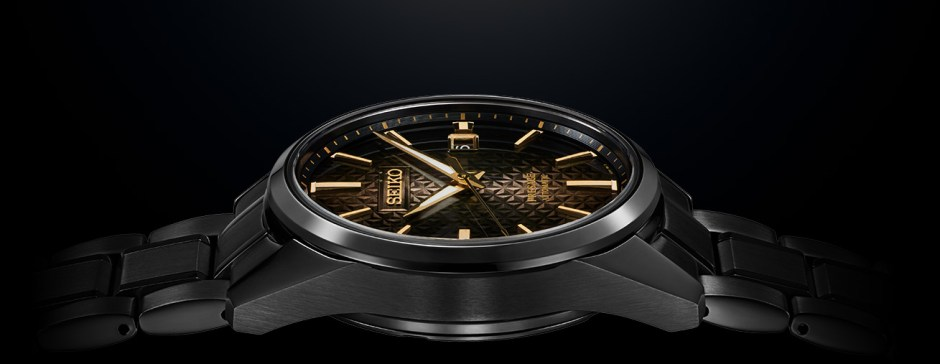 Reloj Seiko Presage Sharp Edgeg SPB205J1 Promo Lateral