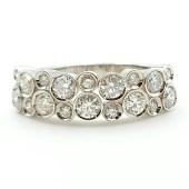 Anillo or blanco con diamantes talla brillante AN386-1-