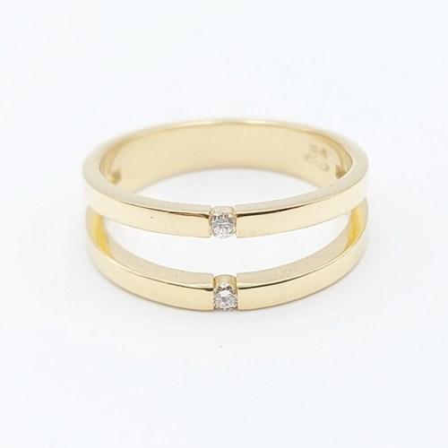 anillo oro amarillo AN512