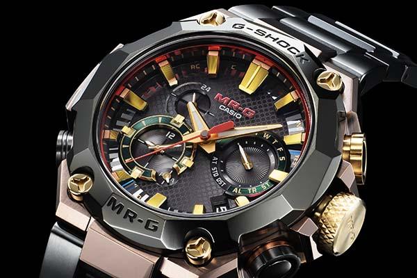 G-Shock MRG-B2000BS-3ADR, «MR-G Hana-Basara», para el 25 aniversario de la colección MR-G