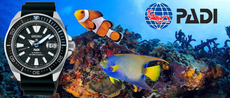 Seiko une fuerzas con PADI y PADI AWARE Foundation para proteger los océanos.