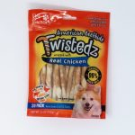 20 Pack Sticks Wrapped Real Chicken