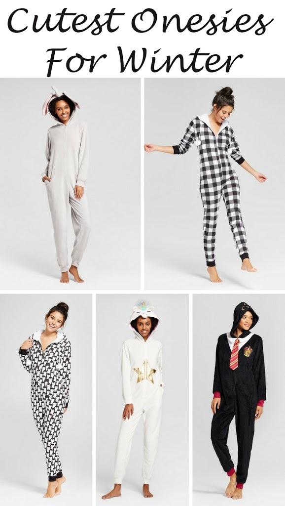 5 Onesie Pajamas to Keep You Warm This Winter