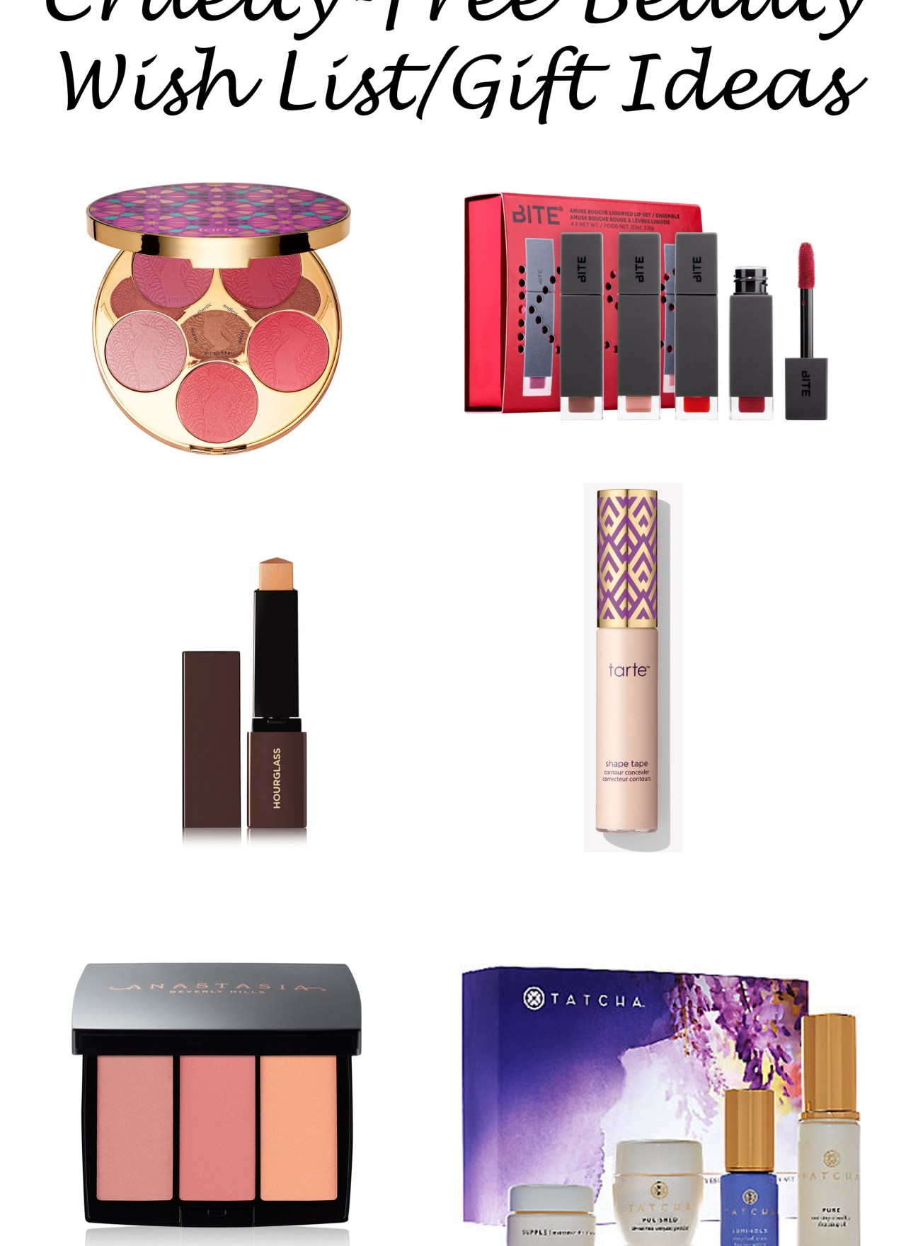 Cruelty-Free Beauty Wish List | Gift Ideas