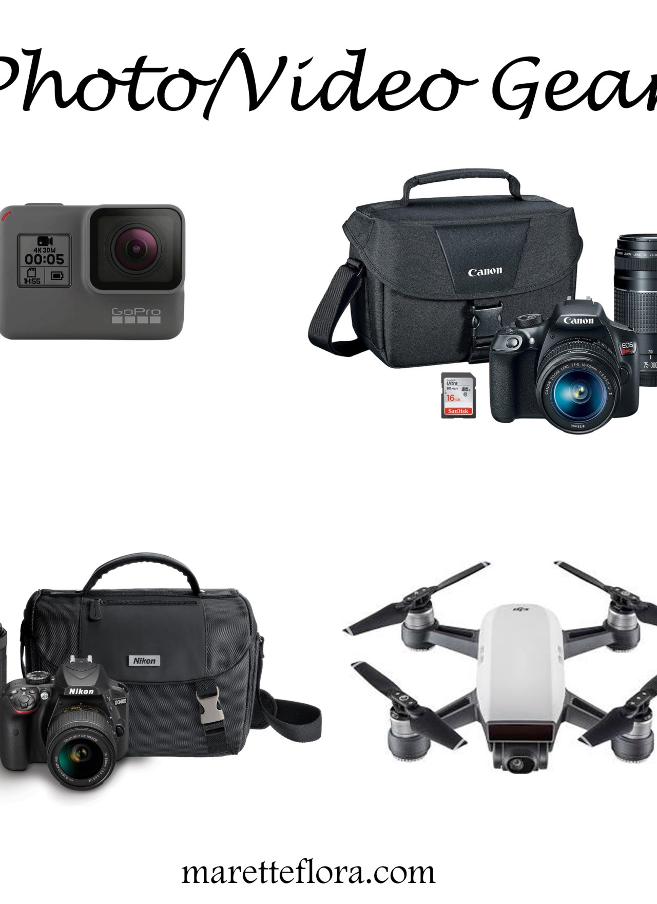 Photo/Video Gear for Bloggers | Target Black Friday Deals