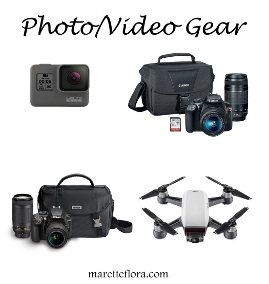 Photo and Video Gear for Bloggers