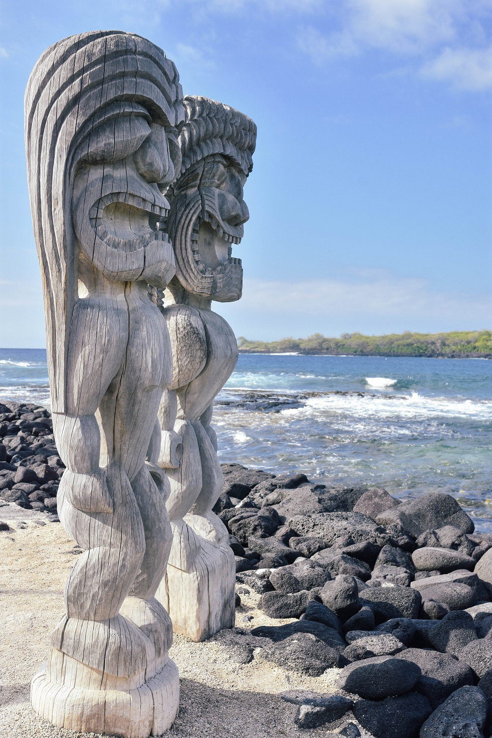 Pu'uhonua o Honaunau National Historical Park, Hawaii