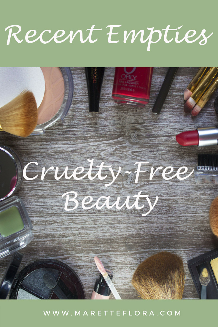 Recent Cruelty-Free Beauty Empties