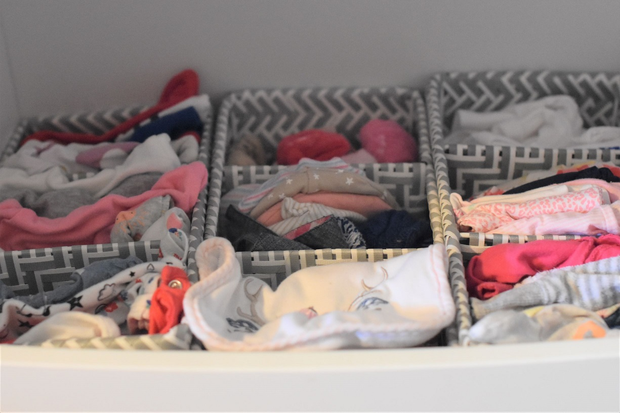 How I Organize My Baby Changing Station