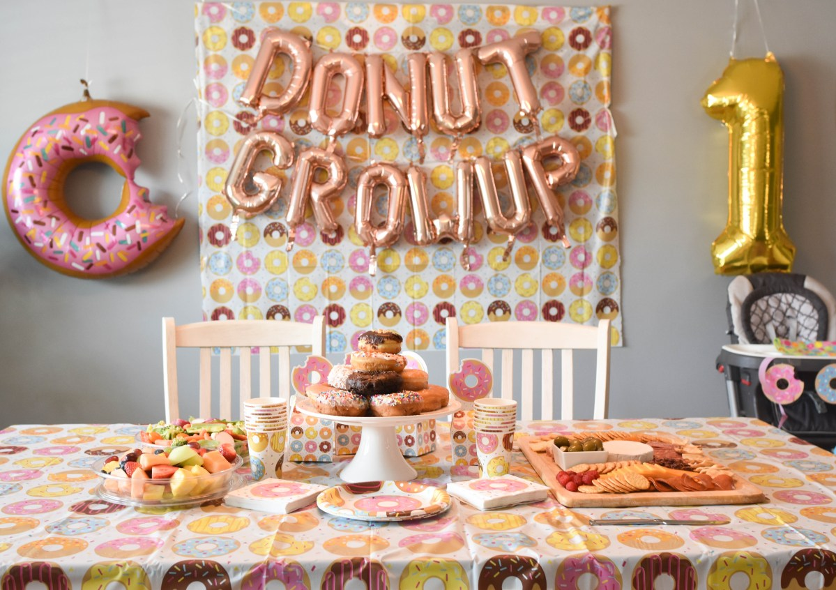 Adelina's Doughnut First Birthday Party