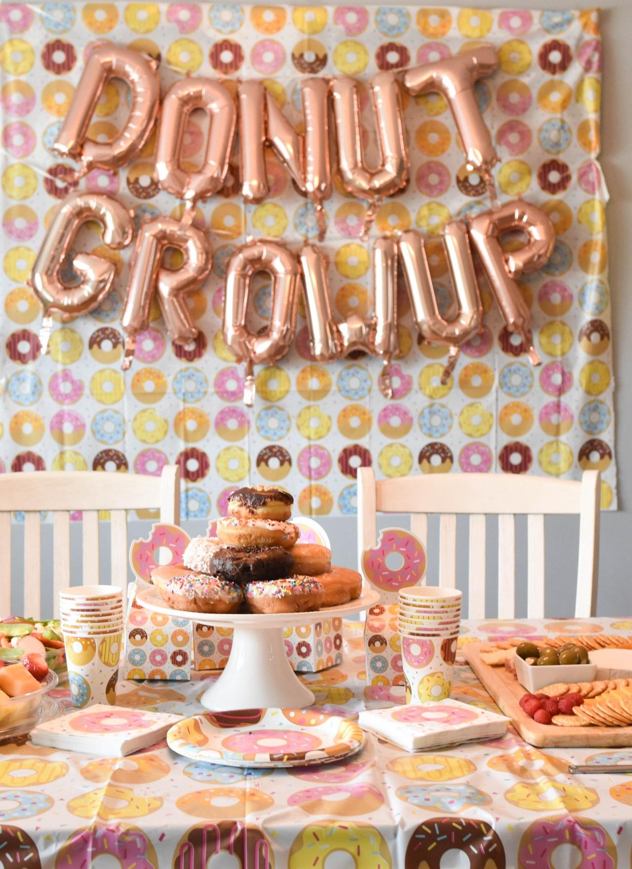 Adelina's Doughnut First Birthday Party