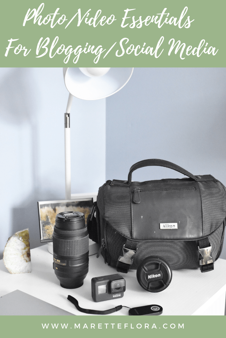 My Photography and Video Essentials for Blogging