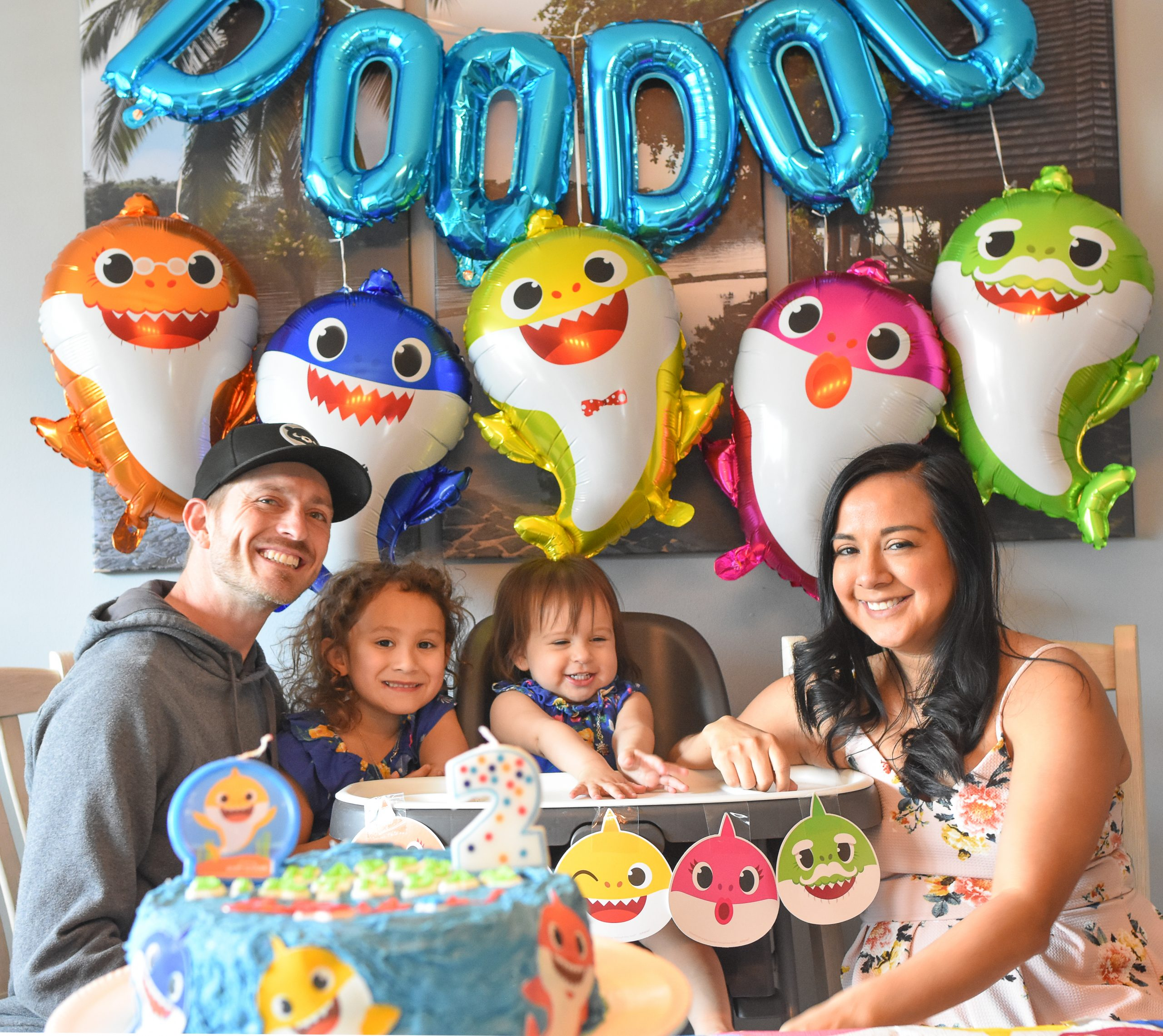 Baby Shark 2nd Birthday Party at Home in Quarantine ...