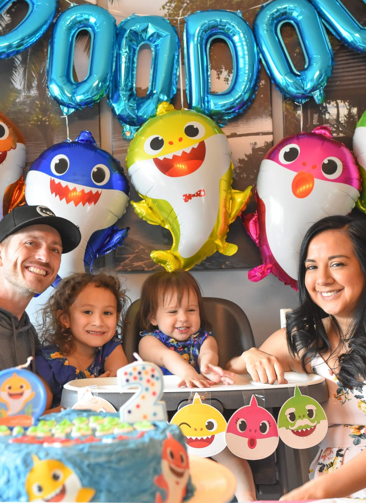 Baby Shark 2nd Birthday Party at Home in Quarantine