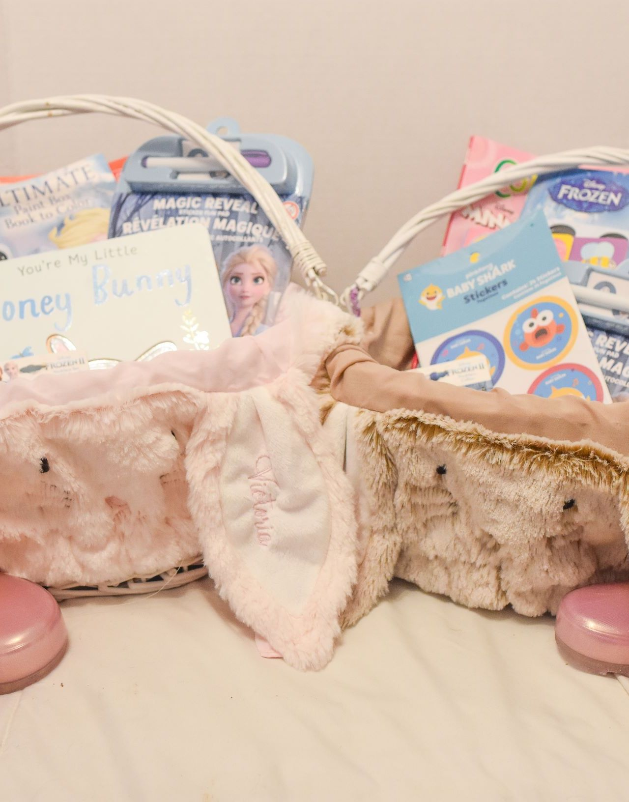 What's in My Kids' Easter Baskets