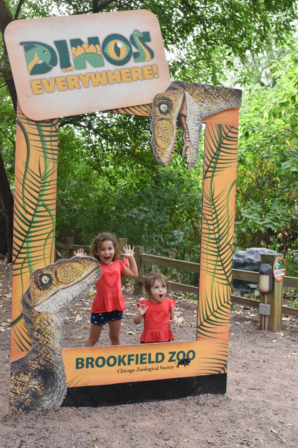 Dinos Everywhere at Brookfield Zoo