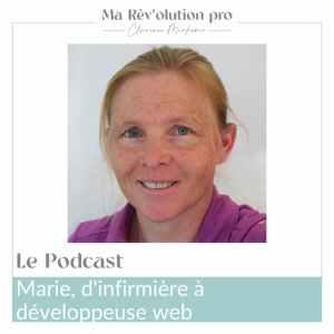 Reconversion professionnelle infirmière développeuse web