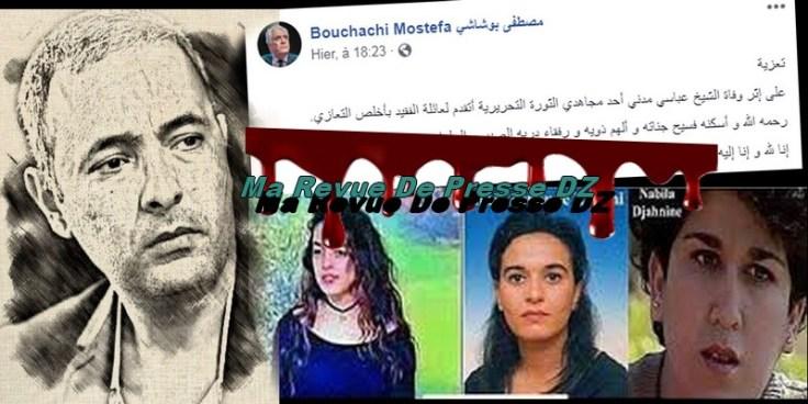 Après Dhina, Abbassi : Bouchachi, le nouveau visage de la haine… Kamel Daoud répond !