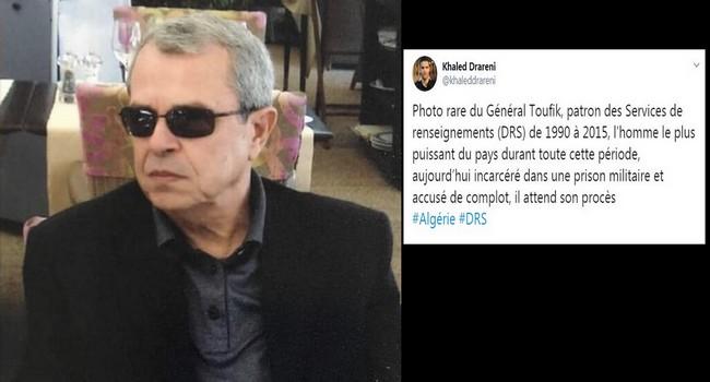 Photo rare du Général Toufik/ Par Khaled Drareni