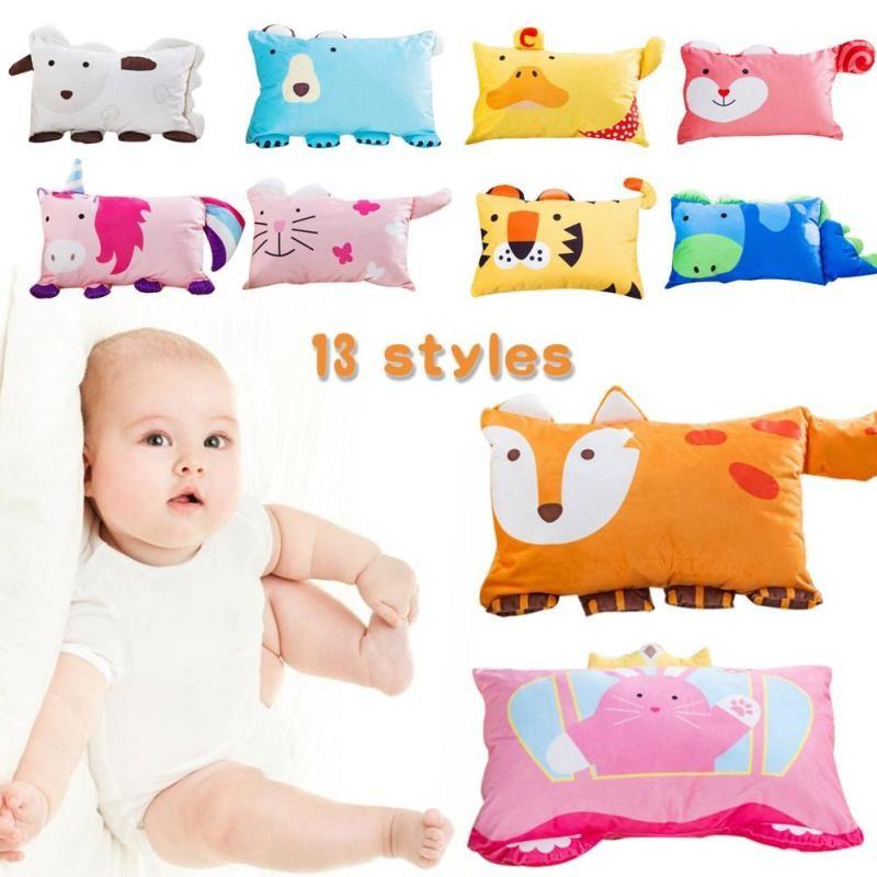 baby pillow infant shape sleep anti
