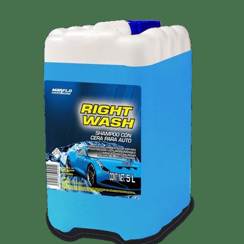 shampoo para auto con cera right wash 5l pt2363 marflo. Black Bedroom Furniture Sets. Home Design Ideas