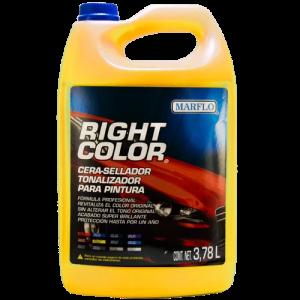 cera de color para autos, marflo