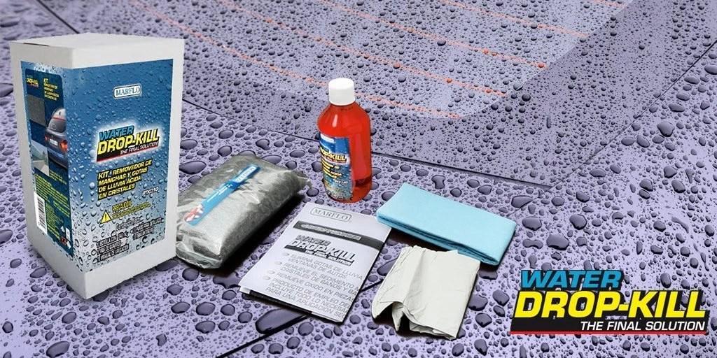 Elimina las marcas de gota fácilmente