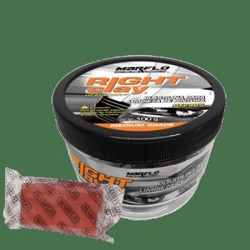 Plastilina descontaminante para pintura, clay, magic clay, brisa de pintura