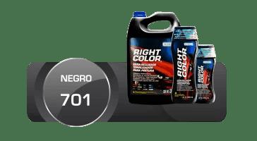 Right color, negro 701, marflo