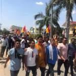 राष्ट्रिय प्रजातन्त्र पार्टीका नेता कार्यकर्ता र प्रहरी बीच नेपालगन्जमा झडप