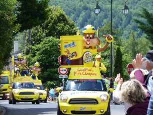 Almost over..... the Nesquick float.