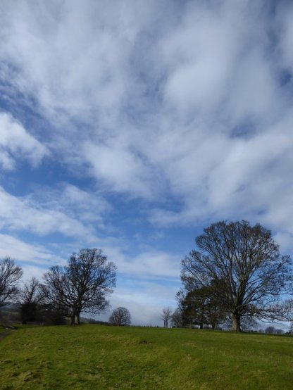 Skies near Danby Hall.