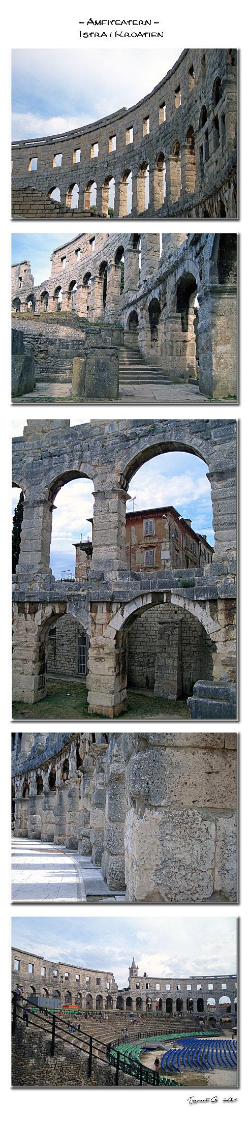 Amfiteatern, Pula - Istra - Kroatien