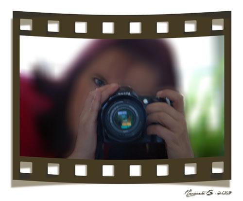 Fotograf M och kamera N