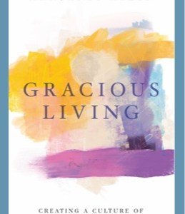 """""""Gracious Living"""" by Margaret Allen, book cover"""